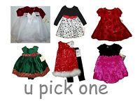 Dress Party Special Occasion Holiday Wedding Fancy Childrens Xmas Little Girls