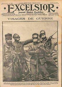 Poilus-Calot-Protege-Crane-Masque-a-Gaz-Lunettes-Bataille-de-la-Marne-WWI-1915