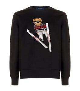 About Polo Sweatshirt Black Bear Details Ski Shirt Ralph Sweater Lauren S New Men's CxQrBtsdh