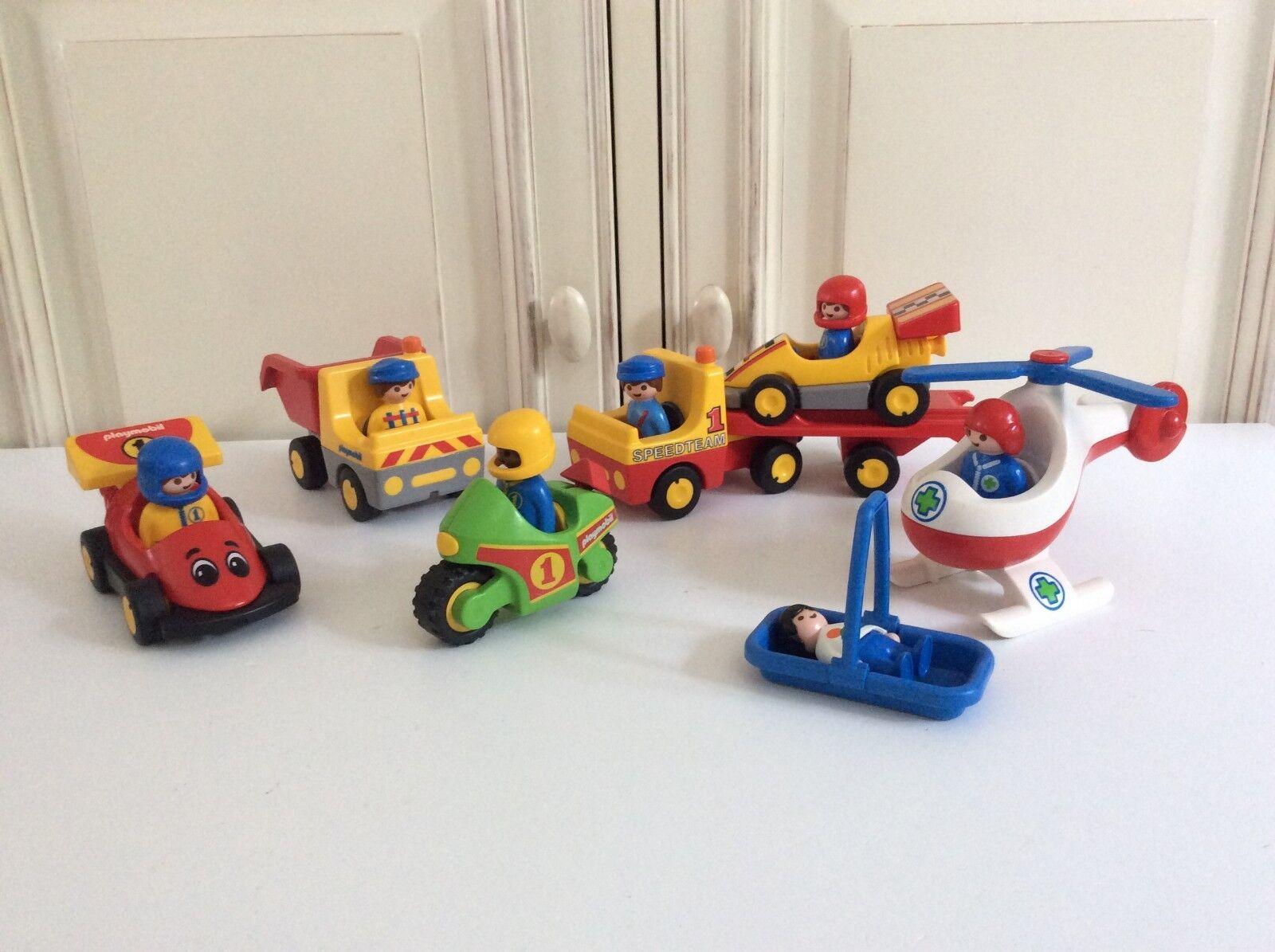 ♥ Lot De Véhicule Playmobil 123