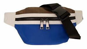 CINQUE-Mio-Belt-Bag-Guerteltasche-Tasche-Blue-Blau-Braun-Neu