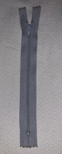 Cremallera no divisible longitud aprox 18 cm gris arcilla 54