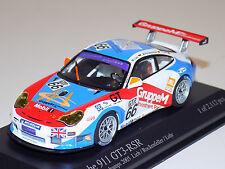 1/43 Minichamps Porsche 911 GT3 RSR car #66 24 Hours Spa 2005 GT2 Class Winners