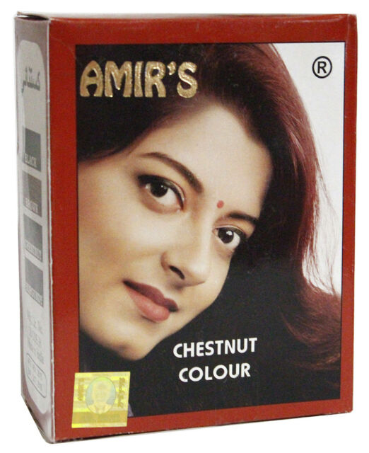 Amir\'s Henna Powder From India Black,Brown,Chestnut (6 x 10 gm) - FREE  Shipping