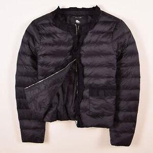 finest selection 4c297 0e9a4 Details zu Zara Damen Jacke Jacket Gr.XL (DE 42) Daunenjacke Light Schwarz,  59231