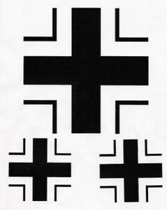 Luftwaffe-Iron-Cross-Sticker-Set-for-VW-Beetle-Camper-Bus-Hot-Rod-Rat-Rod-Euro