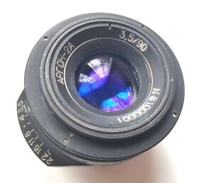 One of the RAREST lenses in the WORLD - AERIAL ARGON-2A 90mm f3.5 8x8cm GFX50