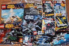 LEGO STAR WARS job lot 11 Different KITS, NEW sealed