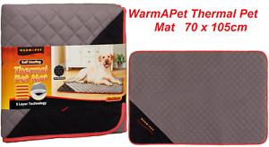 Large Warmapet Thermal Mat Grey Dog Bed Blanket Self Heating 70 x 105 cm 7790124457103