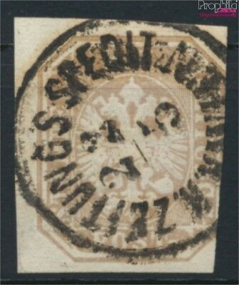 Strict Austria 29 Fine Used / Cancelled 1863 Double Eagle 9057806 complete Issue
