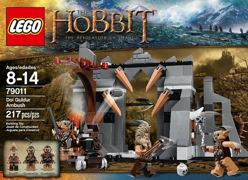 LEGO The Hobbit  An Unexpected Journey - Dol Guldur Ambush 79011 BNISB