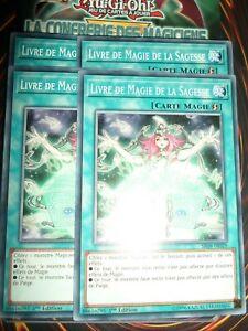 YU-GI-OH-LIVRE-DE-MAGIE-DE-LA-SAGESSE-PLAYSET-LOT-DE-4-SR08-FR029-NEUF-ED-1