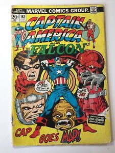 Captain-America-amp-The-Falcon-162-June-1974-Marvel-Cap-039-Goes-Mad-POOR-Loose-Page