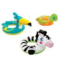 ZEBRA INTEX SPLIT RING swim toy 25 inch x 21 inch pool water kid animal fun NEW