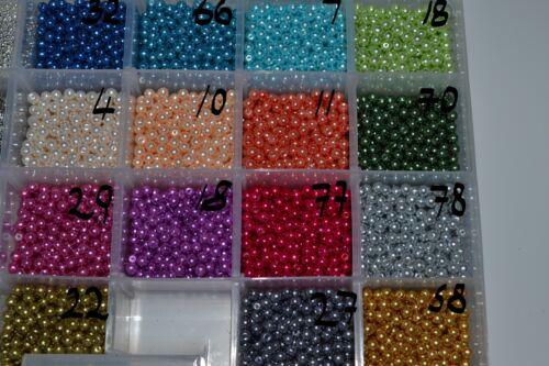 Vert clair rond en Verre Perle Perles 4 mm 6 mm 8mm10mm Bonne Qualité Mariage Artisanat