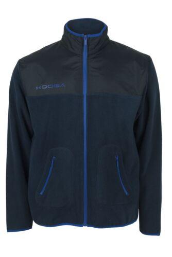 Kooga pour homme micropolaire avec overlay rugby hors champ veste bleu marine small 5XL