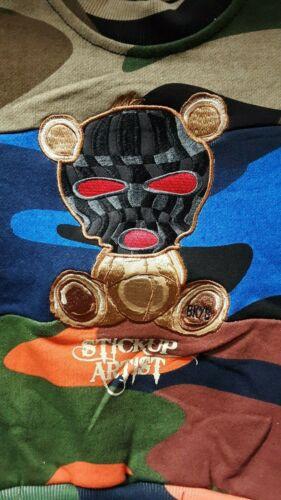 Camo Baby US Toddler Kids Black Keys Stickup Artist Crew Neck Sweater