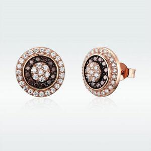 Stud Earrings Free Shipping 1 Pair High Quality 925 Sterling Silver Woman Girl Leaf Stud Earring Nickel Lead Free Ear Jewelry