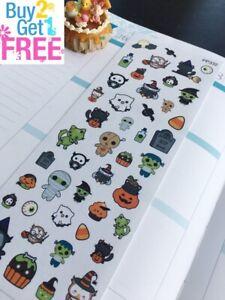 Costumes Pumpkin S332-Halloween,Holiday Ghosts:Planner Stickers Erin Condren