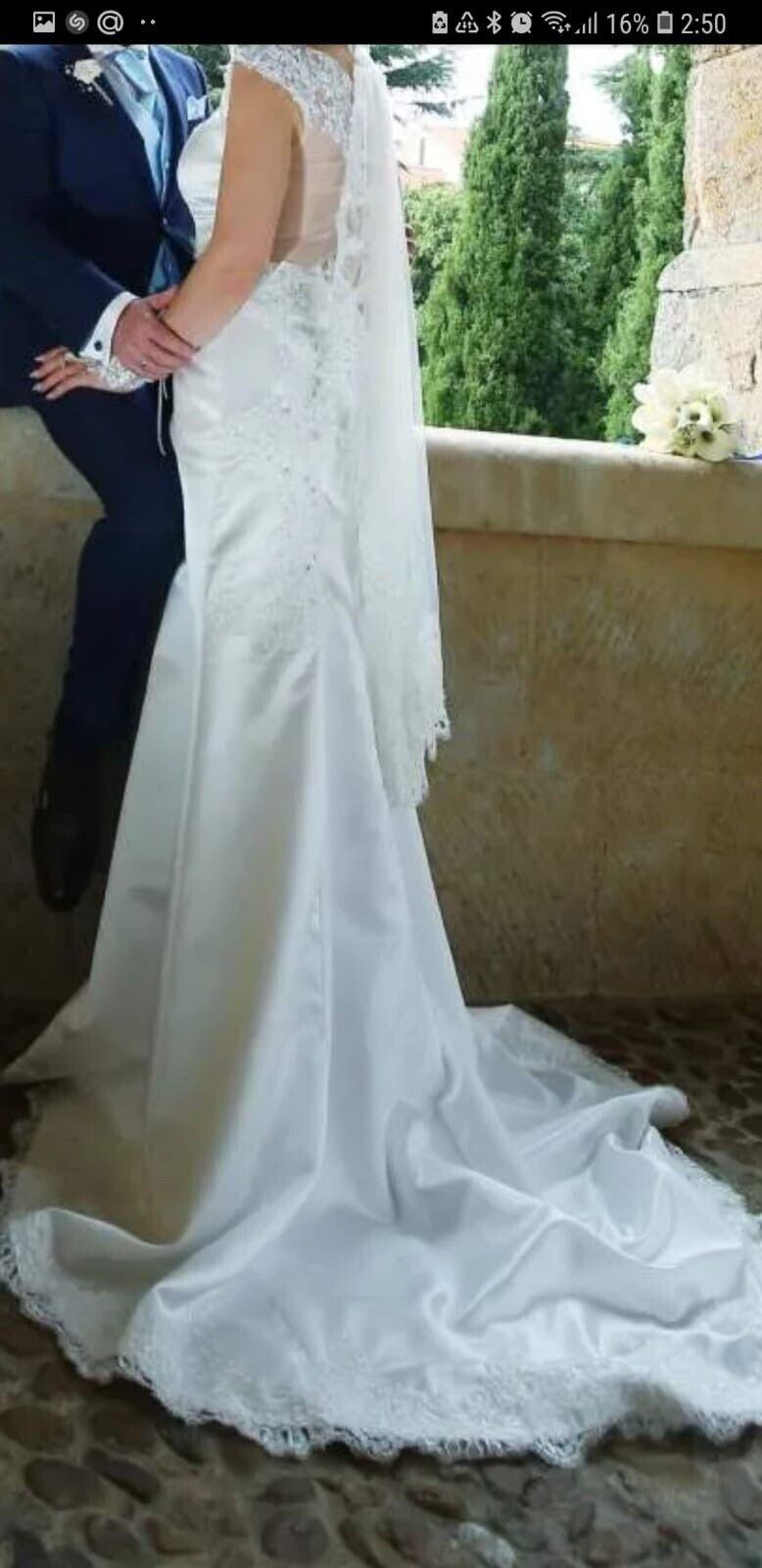 Vestido de Novia talla 40 (M/L)