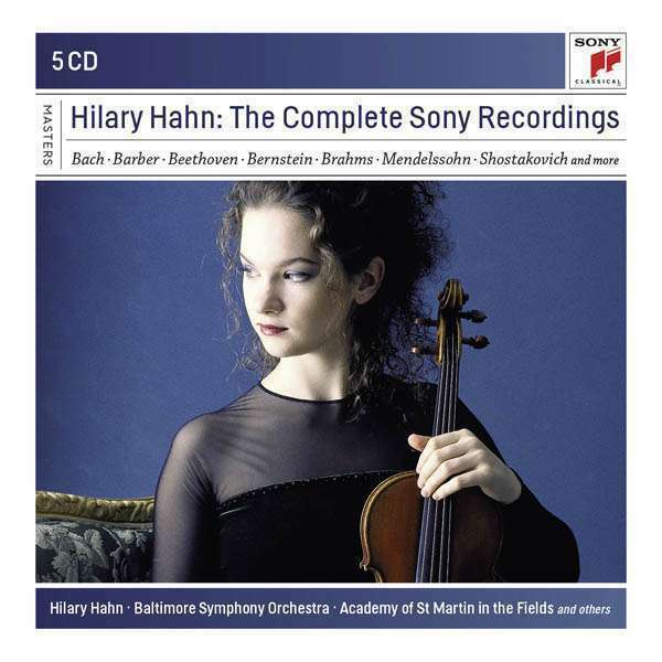 Hahn, Hilary - Hilary Hahn - The Complete sony Enregistrements Neuf CD