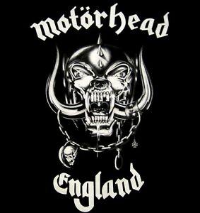 MOTORHEAD-cd-cvr-No-Sleep-At-All-ENGLAND-Official-SHIRT-LRG-new-Nbp