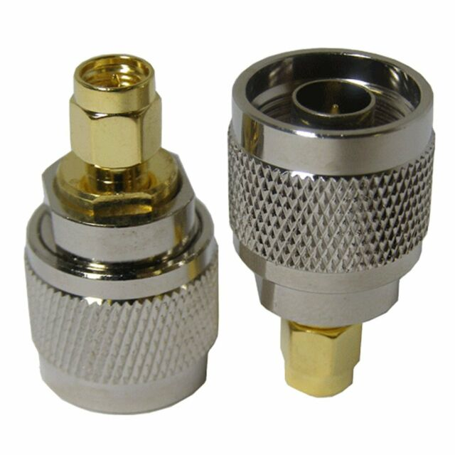 SMA male to N-male connector barrel adapter for antenna conversion /drones