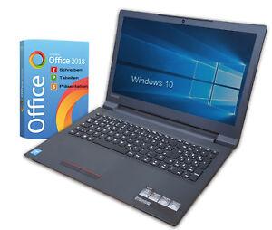 Lenovo Notebook Intel N4000 - Dual Core - 4GB - 1TB - Win10- WLAN- Office 2018
