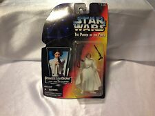 MOC Princess Leia Star Wars POTF2 Power Of Force 1995 Orange .00 3 Bands Belt