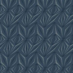 Holden Prisme Géométrique Motif Papier Peint Paillettes Motif Métallique Texturé 65481