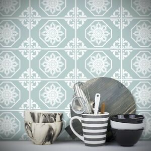 Traditional Tile Stickers Vintage Transfers 200mm X 150mm Kitchen Custom Size T3 Ebay