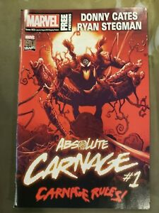 Marvel-Preview-23-Absolute-Carnage-Donny-Cates-Marvel-Comic-1st-Print-2019-NM