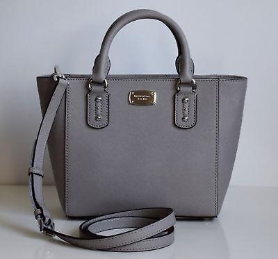 MICHAEL KORS Damen Tasche SANDRINE SM CROSSBODY Saffiano Leder pearl grey | eBay