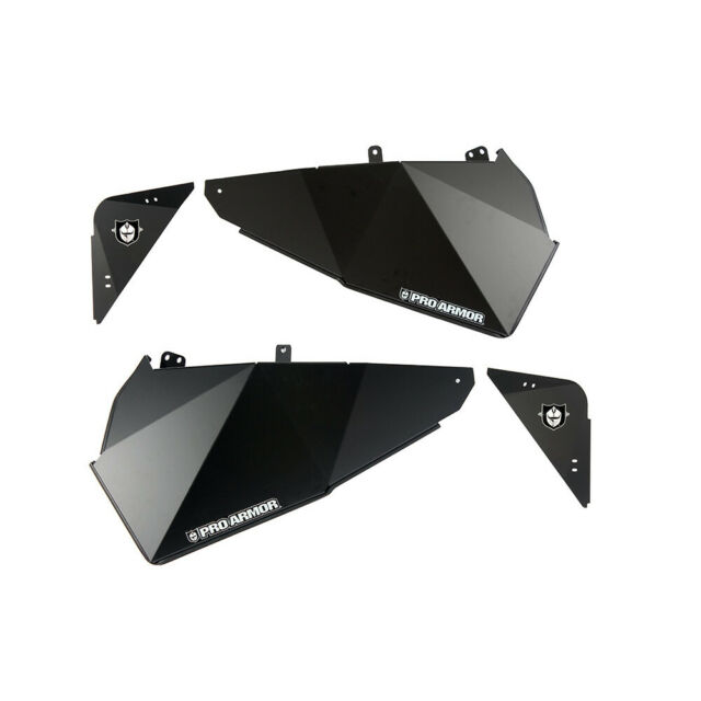 Pro Armor RZR XP4 1000 Black Lower Door Insert P144210BL