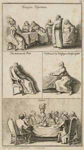 Chodowiecki (1726-1801). una osservazioni; pressione grafico 3
