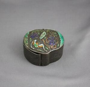 Victorian Silver Italian Snuff / Pill Box. Special Piece