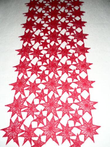 1 m kostet 17,50 €----Weihnachtsläufer 22 cm breit