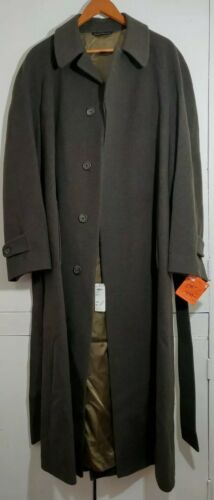 Nordstrom 40L Mens Long Wool Coat