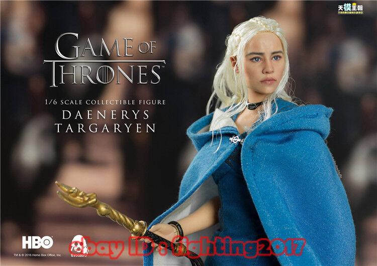 En Stock Threezero HBO Juego de tronos serie Baratheon 1 6 figura Dany + Drogon
