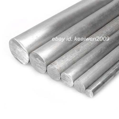 10pcs Φ10mm x 200mm ALUMINUM 6061 Round Rod D10mm Solid Lathe Bar Stock Cut Long