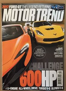 Image Is Loading Motor Trend  Hp Challenge  Ford Gt