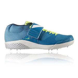 sale retailer b243b 0c16f Image is loading Adidas-Adizero-Javelin-Mens-Blue-Athletic-Track-Field-