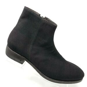22f2c902e3d4 John Varvatos Collection Wool Oxblood Plaid Zip Ankle Boot Mens Shoe ...