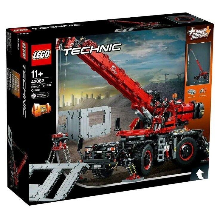 LEGO Technic 42082 Rough Terrain Crane 2-In-1, 4057 Pieces NEW