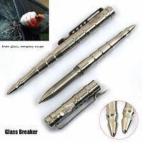 Originality Stainless Steel Self Defence Outdoor Tactical Pen Glass Breaker Pb09