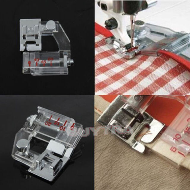 Adjustable Sewing Machine Kit Snapon Bias Binder Foot For Brother Delectable Singer Or Brother Sewing Machines