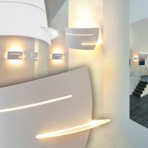 Lampada da parete applique murale bianca vetro moderno design ...