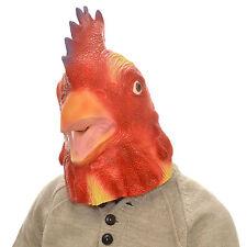Cabeza Completa Látex Overhead Goofy pollo Juegos con disfraces Halloween Máscara de lujo animales graciosos