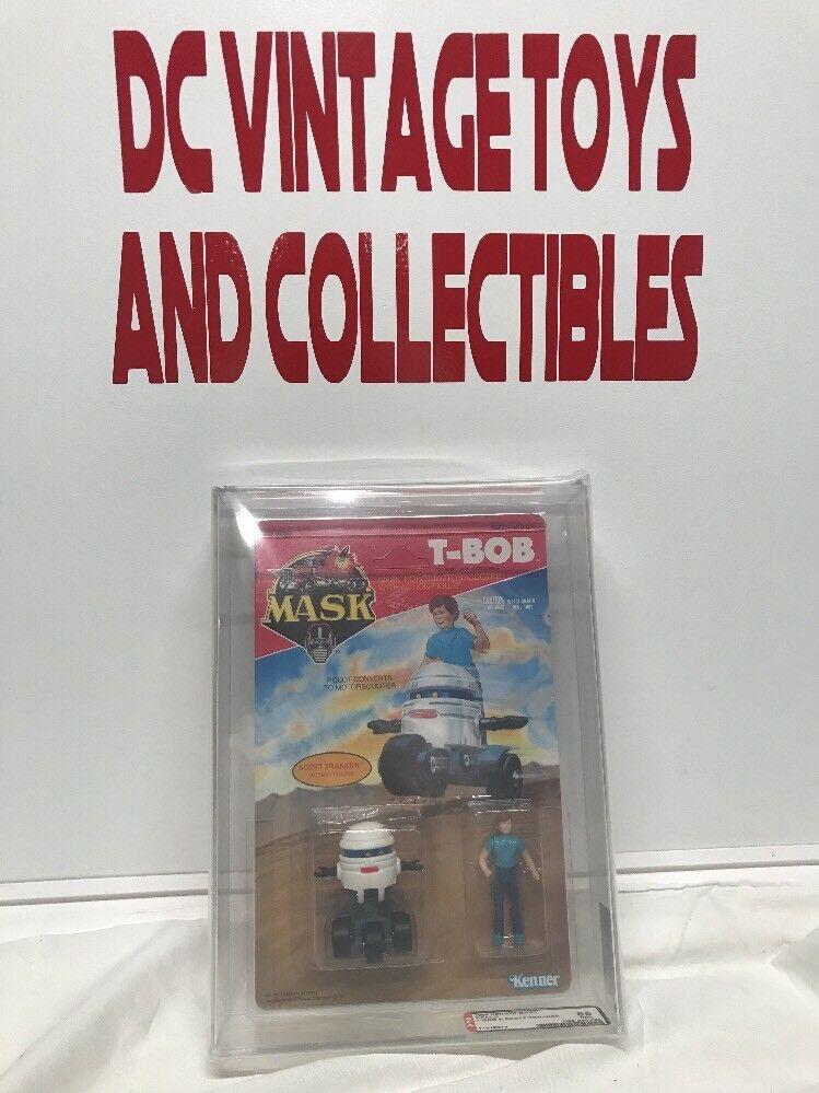 1986 Kenner MASK 2-Pack T-Bob & Scott Trakker Stunning AFA 85 85 85 WOW L@@K