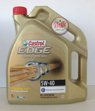 Castrol EDGE 5W40 turbo diesel - 5 litri